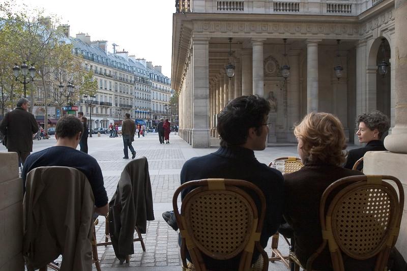 Cafe Scene near Palais Royal