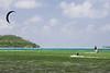 Wind surfing and kite surfing
