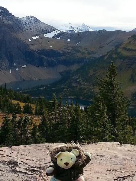 Sherbert Hidden Lake Logan Pass Visitor Center Going to the Sun Rd Glacier
