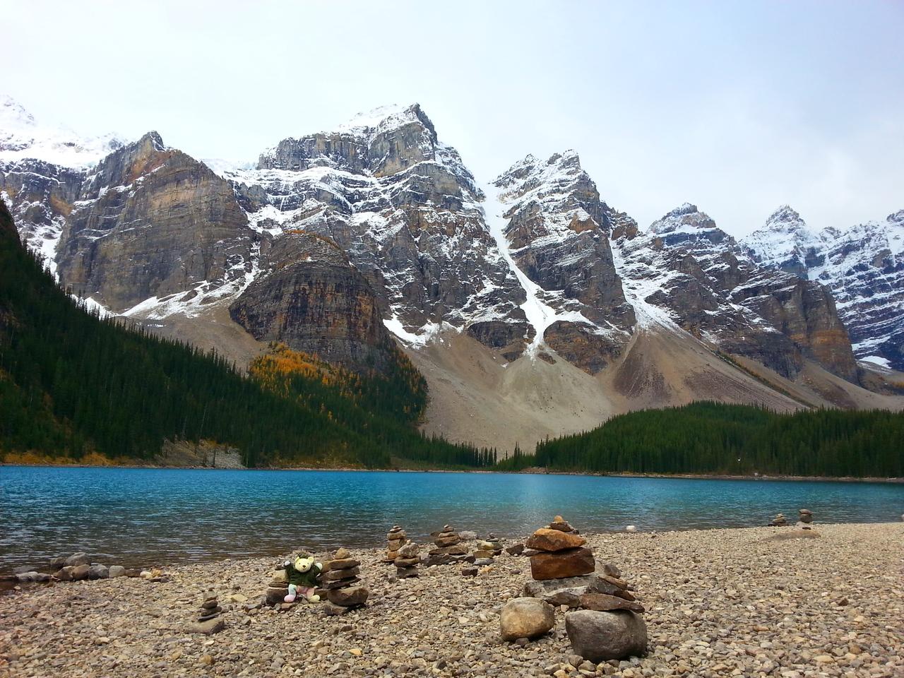 Moraine Lake-Lake Louise