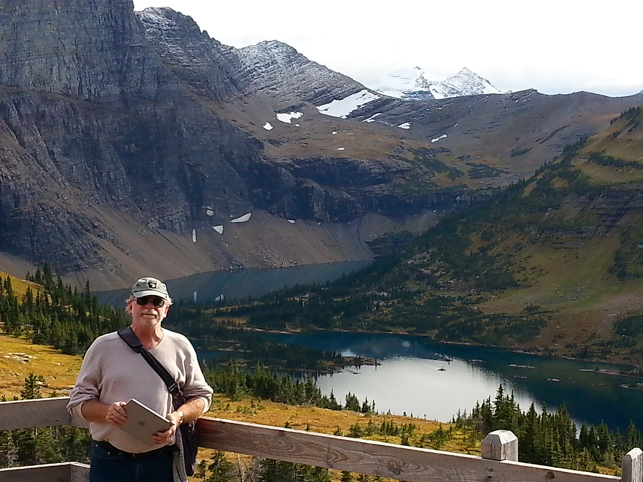 John-Hidden Lake Logan Pass Visitor Center Going to the Sun Rd Glacier