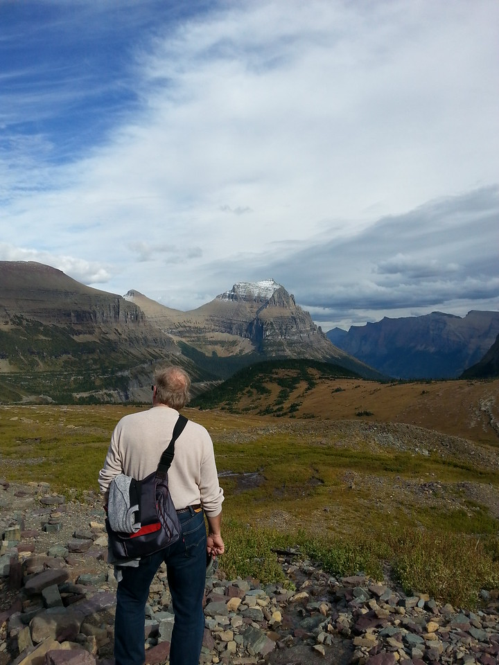Hidden Lake Trail Logan Pass Visitor Center Going to the Sun Rd Glacier