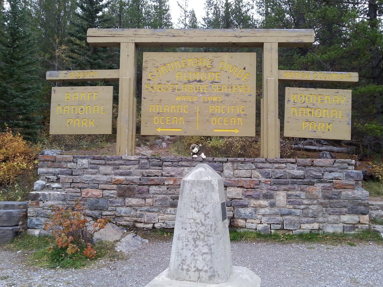 Continental Divide Canadian Rockies