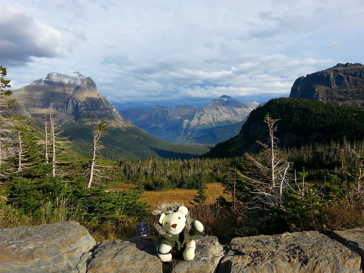Logan Pass Visitor Center Overlook Glacier National Park