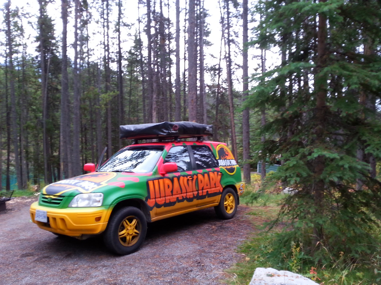 Another cool camper-Two Jack Lake