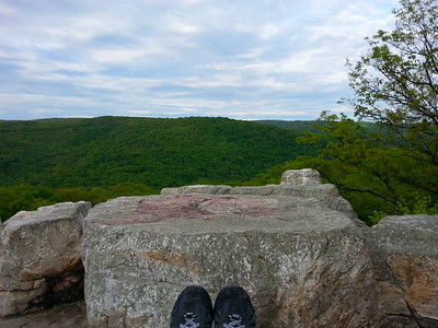 Chimney Rock view