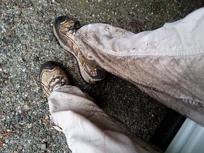 muddy aftermath