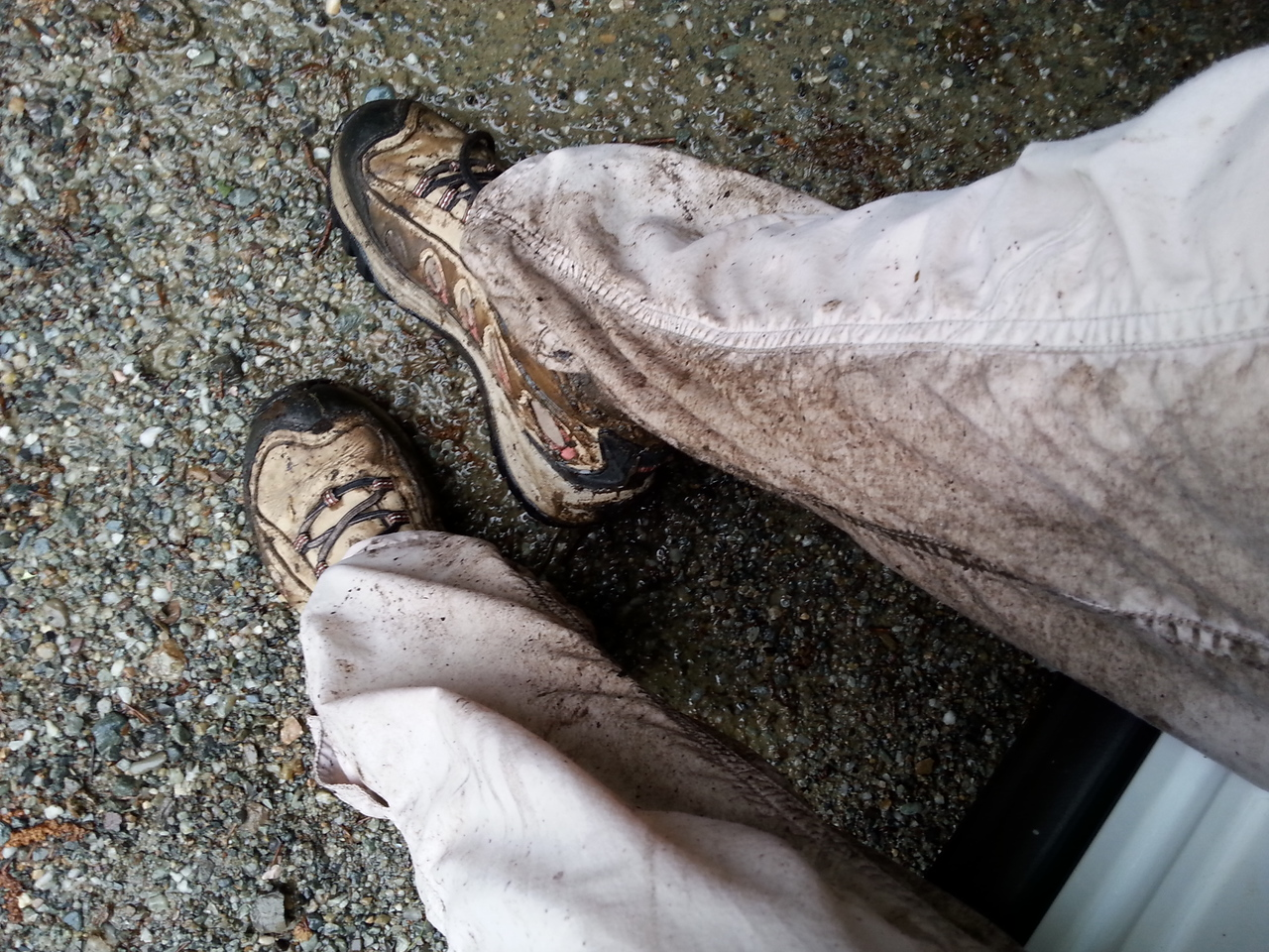 muddy aftermath