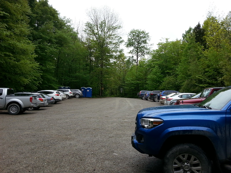Camels Hump parking area