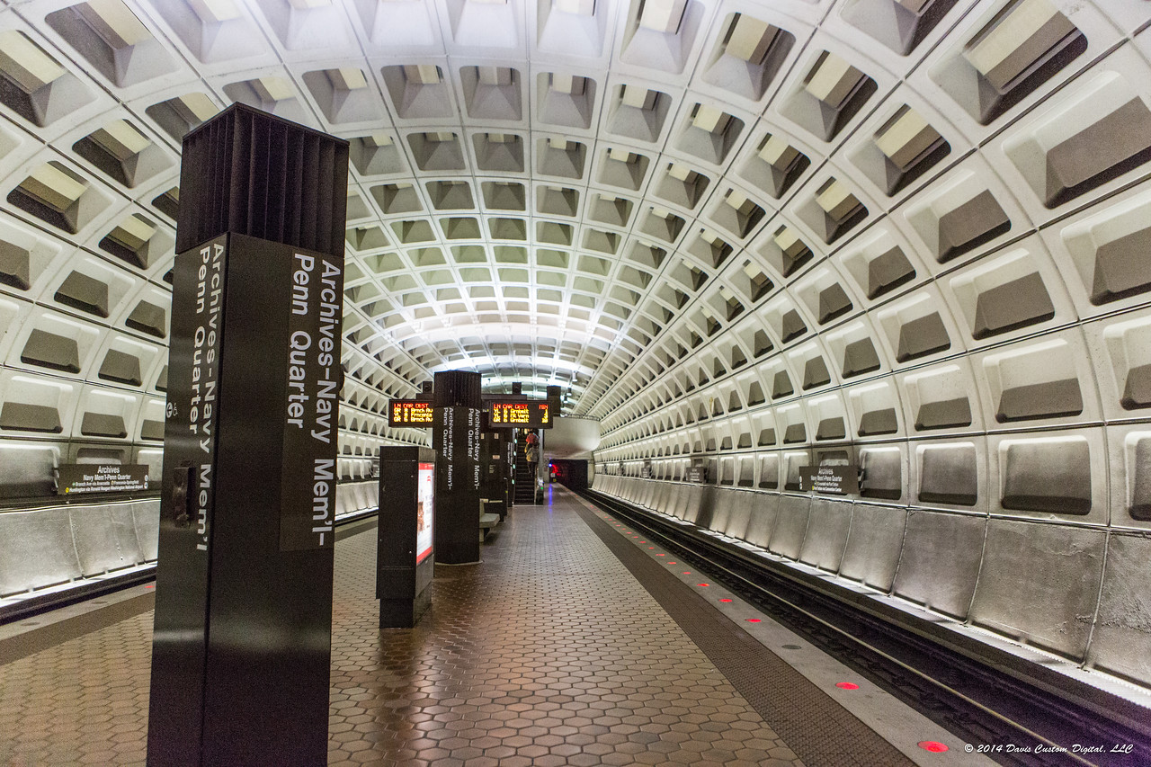 Take the Metro to the Archives stop.