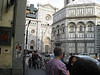 Duomo Baptistry with Cathedral behind