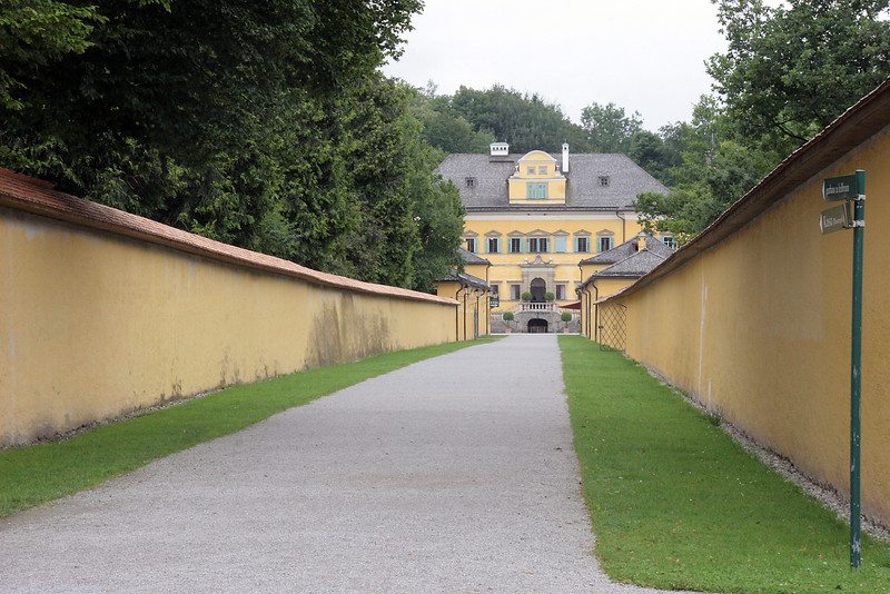 Hellbrun Castle, built in 1610 by the Prince-Archibishop of Austria, has nothing to do with SOM ...except that it now features the SOM gazebo.