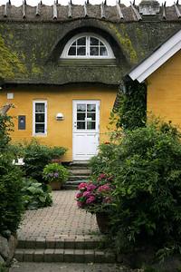 Jyllinge thatched house.