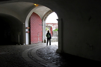 Exploring Kronberg Slot (Slot is Danish for Castle).