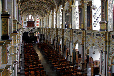 This is the chapel of Frederiksborg Slot.