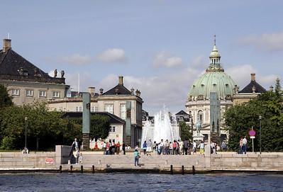 Amelienborg Square.