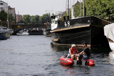 Christianshavn Canal area of København.