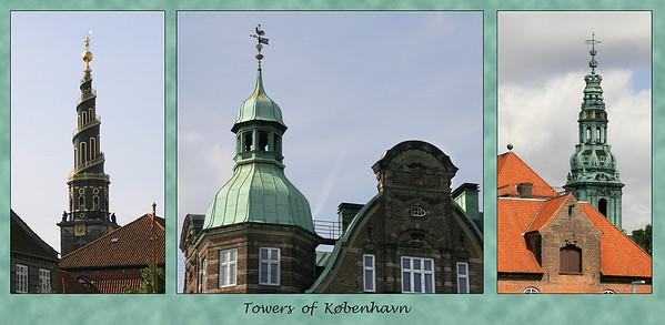 More interesting København towers.
