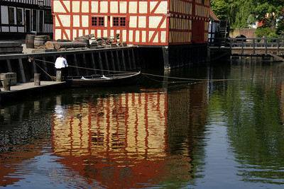 Den Gamle By is a very large living history museum, quite thorough in its recreation of old Danish town life.