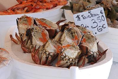 Marché des Capucins : Crab.