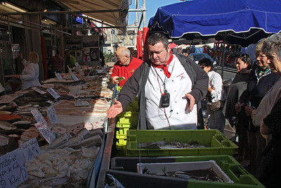Marché des Capucins : Our guide for the market tour was our Viking Forseti master chef, Pascal.