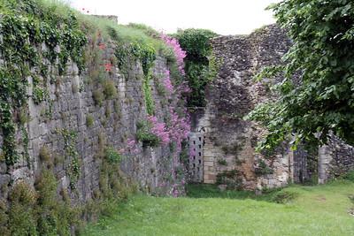Old Citadel walls.