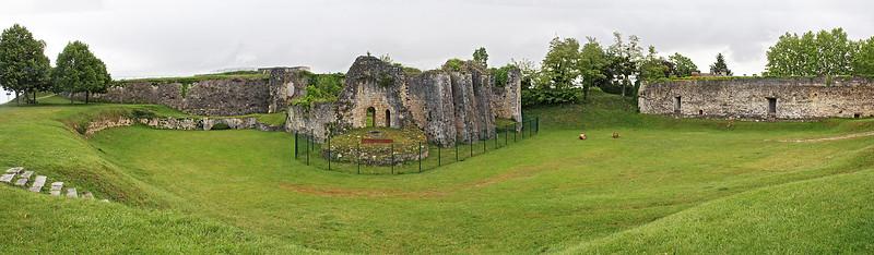 Citadel interior panorama.