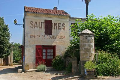 Sauterne village.