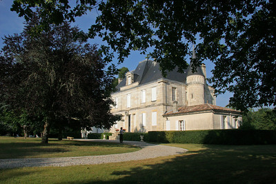 Chateau Foulon in Castelnau de Medoc, our home for 4 nights in Bordeaux.
