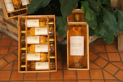 The local product ... Sauterne wine!