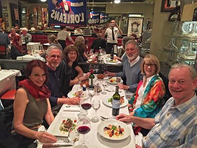 Dinner at Brasserie L'Orleans.