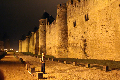 On our first evening we took a short walk outside the city walls.