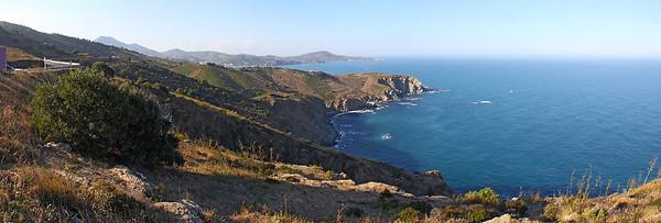 Somewhere along the Costa Brava between Port Lligat and Collioure.