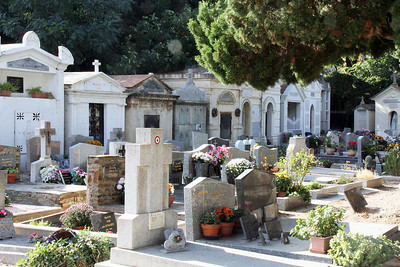 Collioure town cemetery.