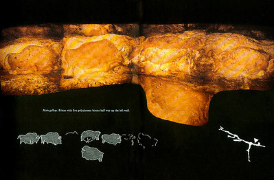 Font de Gaume is the last prehistoric cave in France where you can see the real thing.  All others open to tourists are reproductions of the real cave.