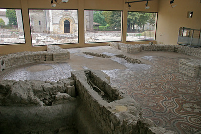 There is a museum on the site, dedicated to the ruins of the Roman villa.