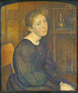"""""""La Femme d'Artiste"""", George Lemmen, 1893"""