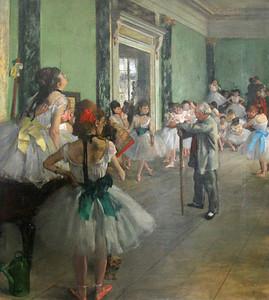 """""""La Classe de Danse"""", Degas, 1875"""