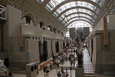 For our 3rd morning, we visit La Musée d'Orsay.