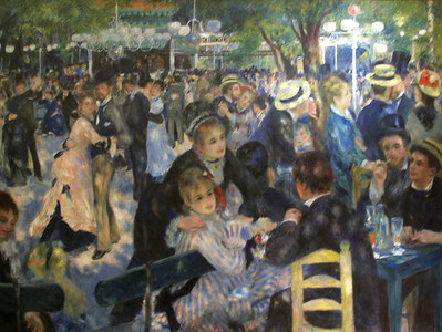 """""""Le Moulin de Galette"""", Renoir, 1876"""