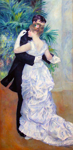 """""""Danse a la Ville"""", Renoir, 1879"""