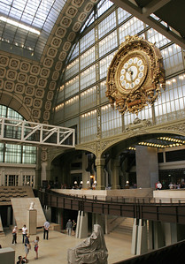 The Orsay is an old train station.