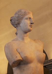 Venus de Milo, Greek, c. 120 BC.