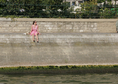 Right bank, Seine River.