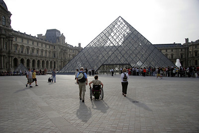 "We start the 2nd day at Le Louvre.  All images of art from the Louvre are in the gallery ""Paris-Art Museums""."