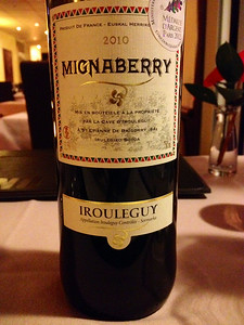 Irouleguy is a wine from the northern Basque country in southern France.  Quite excellent!