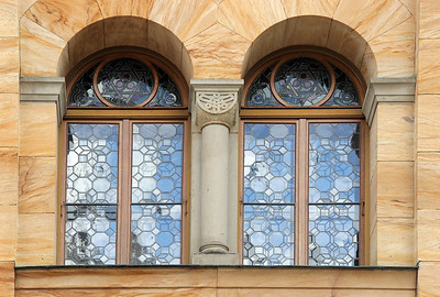 Castle windows.