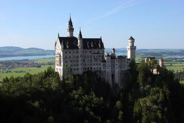 Bavarian Castles:  Neuschwantein