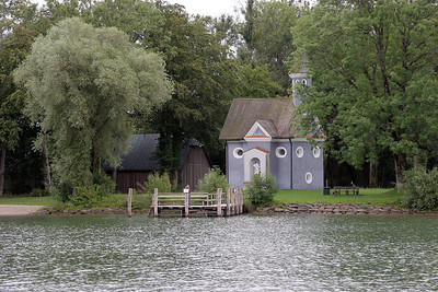 A small church on the island.