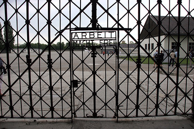 """""""ARBEIT MACHT FREI"""" ... """"Works Makes You Free"""" .... the cruel joke that greeted newly arrived inmates."""